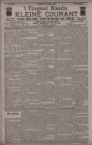Vliegend blaadje : nieuws- en advertentiebode voor Den Helder 1896-08-26
