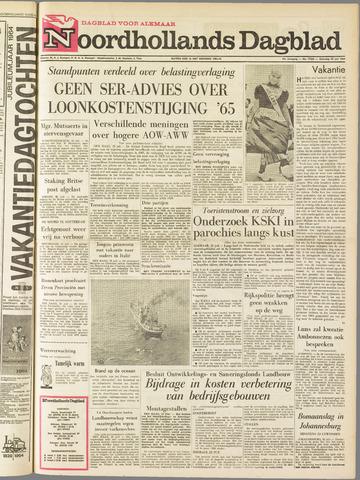 Noordhollands Dagblad : dagblad voor Alkmaar en omgeving 1964-07-25