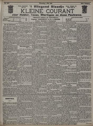Vliegend blaadje : nieuws- en advertentiebode voor Den Helder 1908-05-06