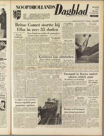 Noordhollands Dagblad : dagblad voor Alkmaar en omgeving 1954-01-11