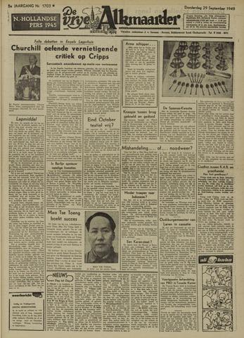De Vrije Alkmaarder 1949-09-29