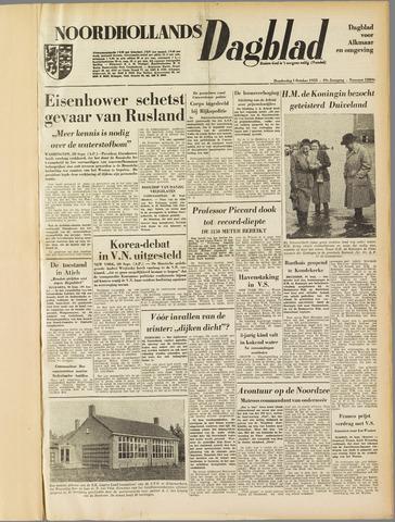 Noordhollands Dagblad : dagblad voor Alkmaar en omgeving 1953-10-01