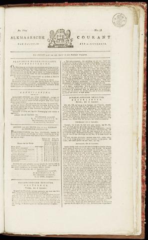 Alkmaarsche Courant 1822-09-23