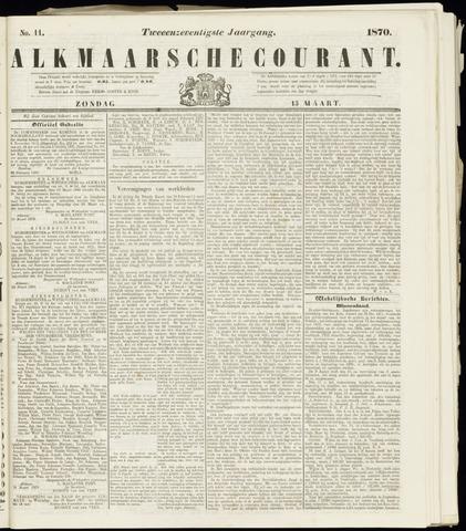Alkmaarsche Courant 1870-03-13