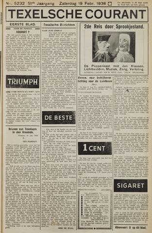 Texelsche Courant 1938-02-19