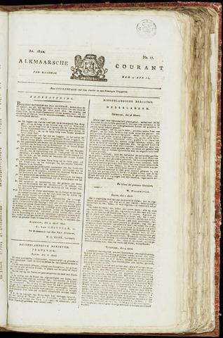Alkmaarsche Courant 1820-04-17