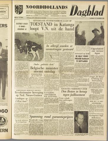 Noordhollands Dagblad : dagblad voor Alkmaar en omgeving 1960-11-19