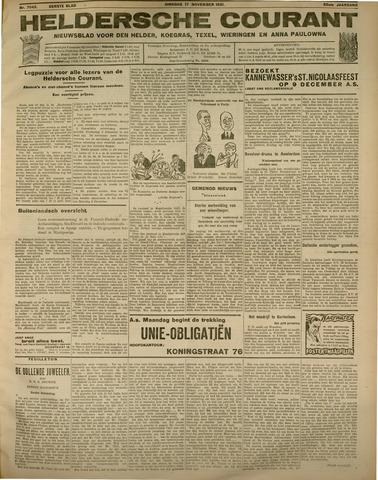 Heldersche Courant 1931-11-17