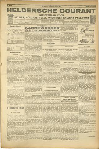 Heldersche Courant 1927-11-26