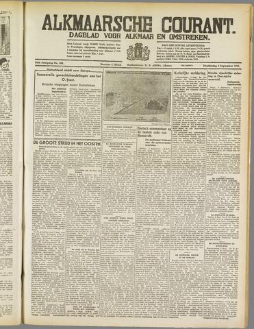 Alkmaarsche Courant 1941-09-04