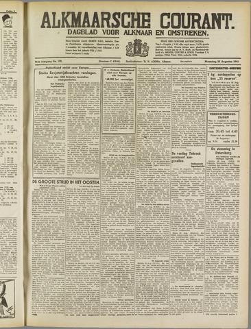 Alkmaarsche Courant 1941-08-25