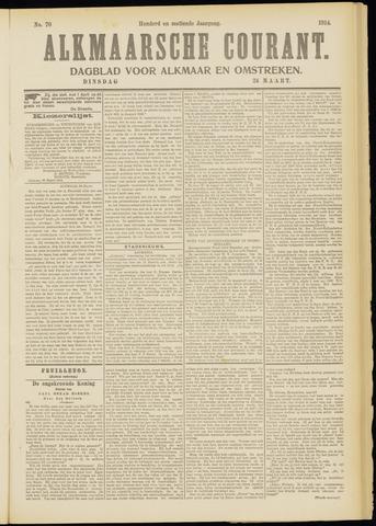 Alkmaarsche Courant 1914-03-24