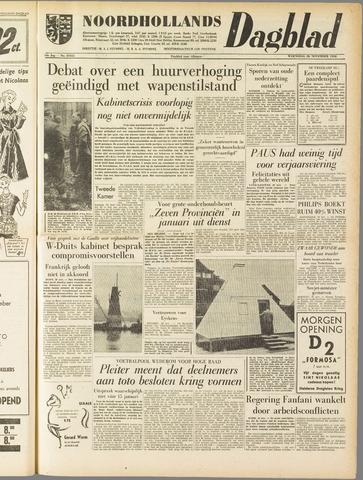 Noordhollands Dagblad : dagblad voor Alkmaar en omgeving 1958-11-26
