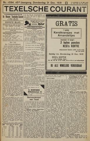 Texelsche Courant 1931-12-31