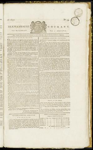 Alkmaarsche Courant 1837-08-21