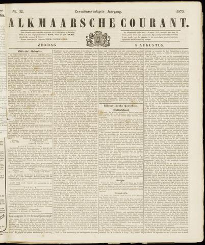 Alkmaarsche Courant 1875-08-08