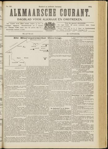 Alkmaarsche Courant 1914-10-12
