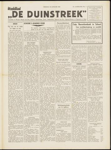 De Duinstreek 1950-01-20