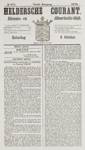Heldersche Courant 1870-10-08