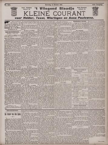Vliegend blaadje : nieuws- en advertentiebode voor Den Helder 1903-10-31
