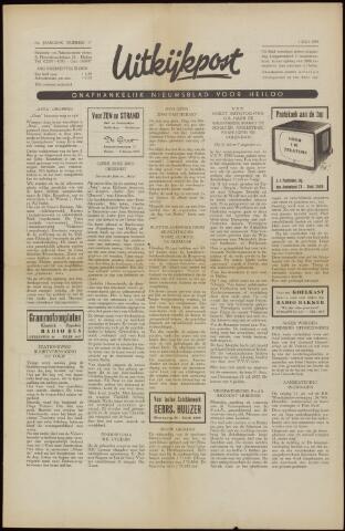 Uitkijkpost : nieuwsblad voor Heiloo e.o. 1958-06-27
