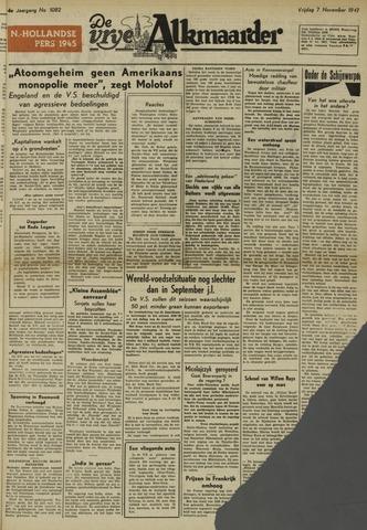 De Vrije Alkmaarder 1947-11-07