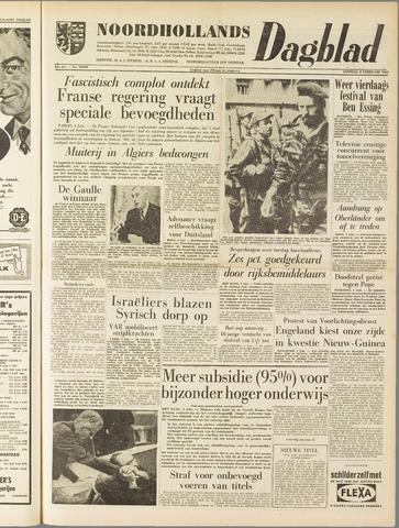 Noordhollands Dagblad : dagblad voor Alkmaar en omgeving 1960-02-02