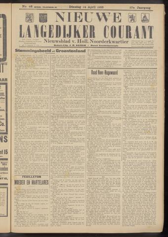 Nieuwe Langedijker Courant 1928-04-24