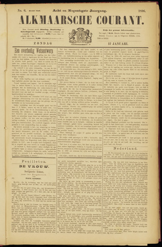Alkmaarsche Courant 1896-01-12