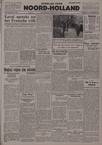 Dagblad Noord-Holland, Schager editie 1942-11-21