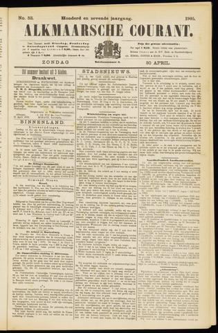 Alkmaarsche Courant 1905-04-30