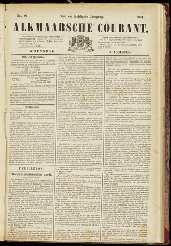 Alkmaarsche Courant 1881-08-03
