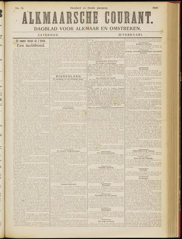 Alkmaarsche Courant 1908-02-29