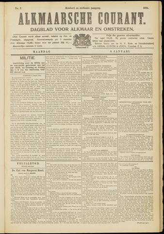 Alkmaarsche Courant 1914-01-05