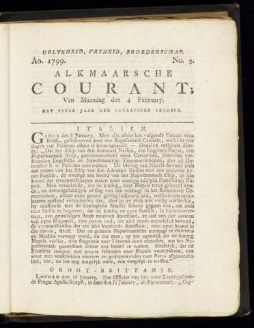 Alkmaarsche Courant 1799-02-04