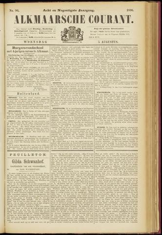Alkmaarsche Courant 1896-08-05