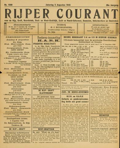 Rijper Courant 1945-08-04