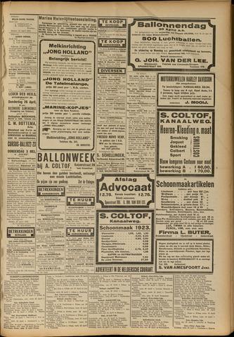 Heldersche Courant 1923-04-24
