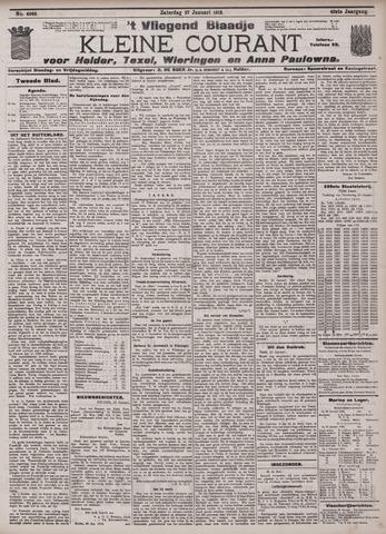 Vliegend blaadje : nieuws- en advertentiebode voor Den Helder 1912-01-27