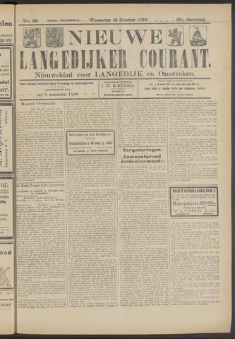 Nieuwe Langedijker Courant 1920-10-13
