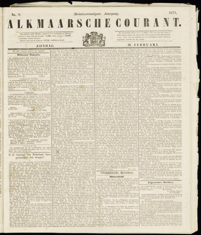 Alkmaarsche Courant 1871-02-26