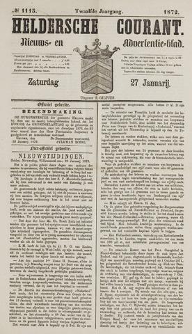 Heldersche Courant 1872-01-27