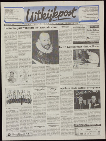 Uitkijkpost : nieuwsblad voor Heiloo e.o. 1996-02-14