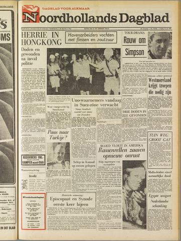 Noordhollands Dagblad : dagblad voor Alkmaar en omgeving 1967-07-14