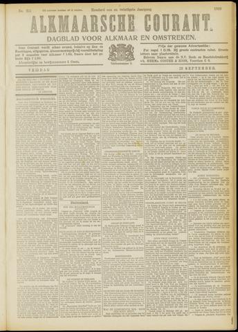 Alkmaarsche Courant 1919-09-19
