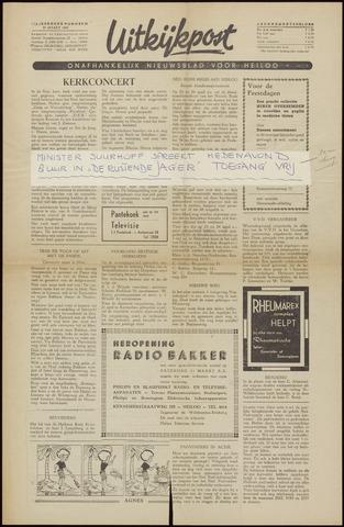 Uitkijkpost : nieuwsblad voor Heiloo e.o. 1956-03-30