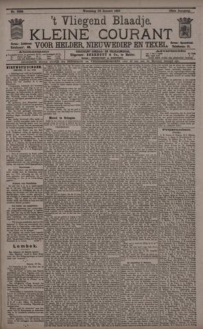 Vliegend blaadje : nieuws- en advertentiebode voor Den Helder 1895-01-23