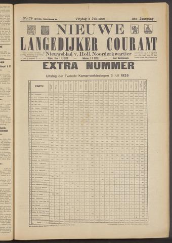 Nieuwe Langedijker Courant 1929-07-05