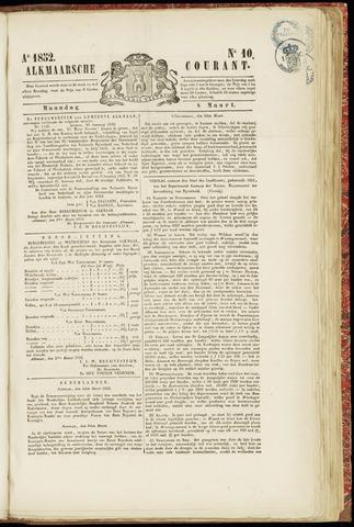 Alkmaarsche Courant 1852-03-08