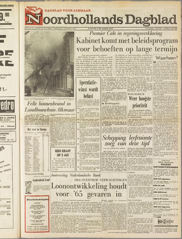 Noordhollands Dagblad : dagblad voor Alkmaar en omgeving 1965-04-27